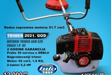 Agm trimer za travu 520